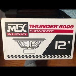 "MTX Audio Thunder 6000 12"" subwoofer"